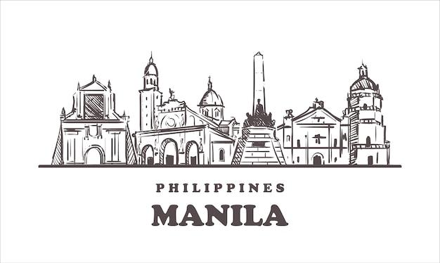 Manila der philippinischen attraktionen