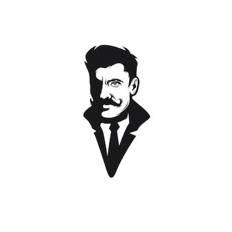 Mann porträt avatar