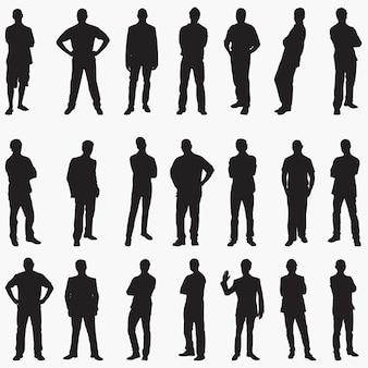 Mann silhouette