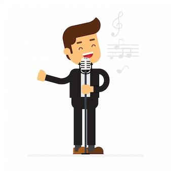 Mann zeichen avatar symbol