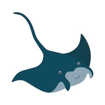 Mantarochen fisch ozean