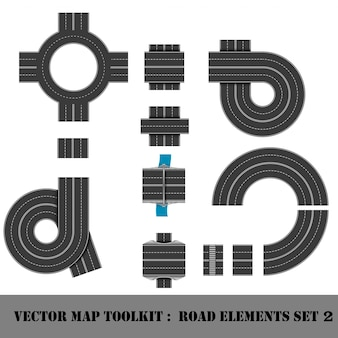 Map toolkit. draufsicht position.