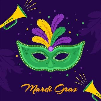 Mardi gras hintergrund