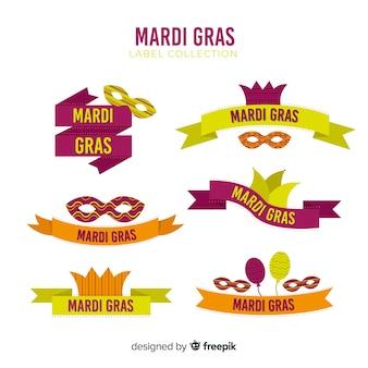 Mardi gras label kollektion