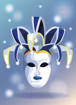 Mari-gras-maske