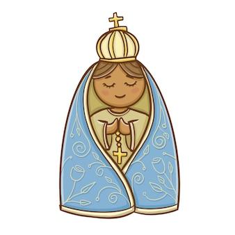 Maria, unsere frau, wirkte katholisch