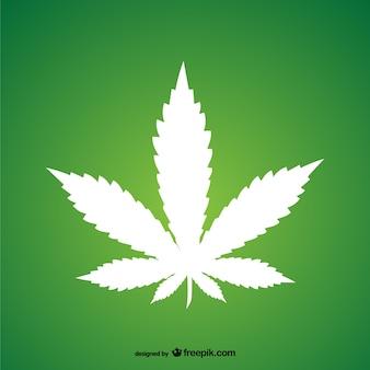 Marihuana-blatt