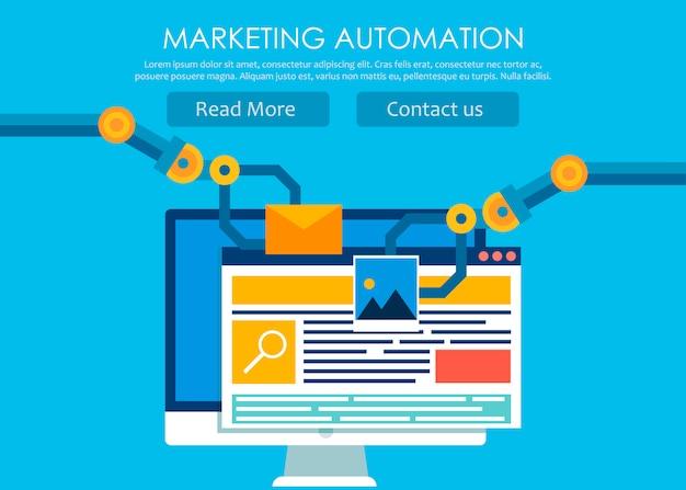 Marketing-automatisierung