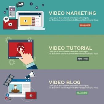 Marketing-banner-sammlung