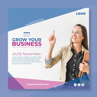 Marketing business flyer platz