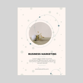 Marketing business flyer vorlage