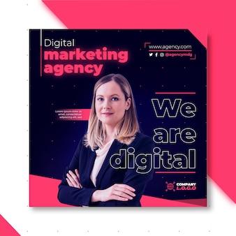 Marketing business flyer vorlage