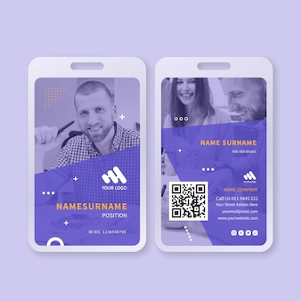 Marketing business id-karte