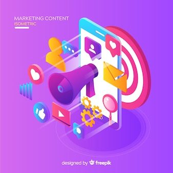 Marketing-Content-Konzept