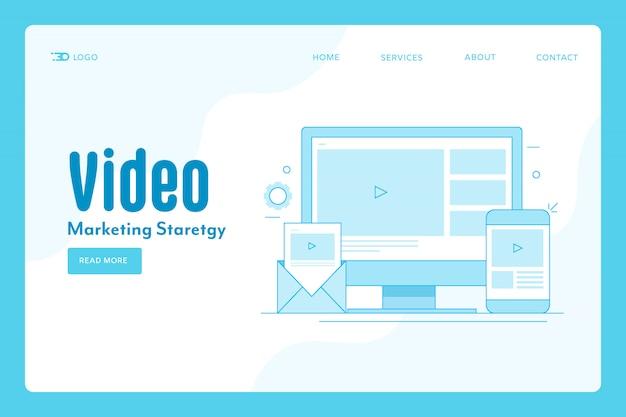 Marketing für videoinhalte