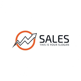 Marketing graph logo