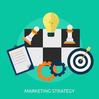 Marketing-hintergrund-design