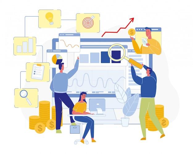 Marketing- und targeting-spezialisten