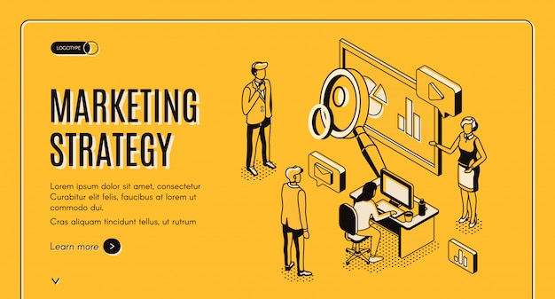 Marketingstrategie, finanzanalyseunternehmen