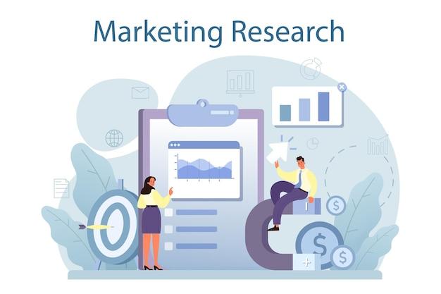 Marktforschung. statistikanalyse, entwicklung von marketingstrategien. unternehmensförderung und produktwerbung. seo und kommunikation durch medien.