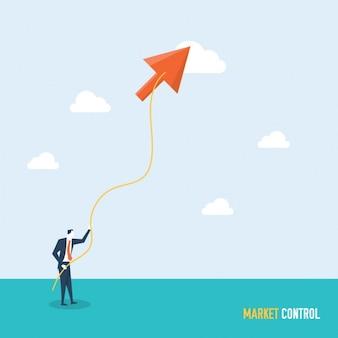 Marktsteuerung hintergrund