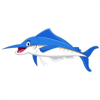 Marlin fischkarikatur