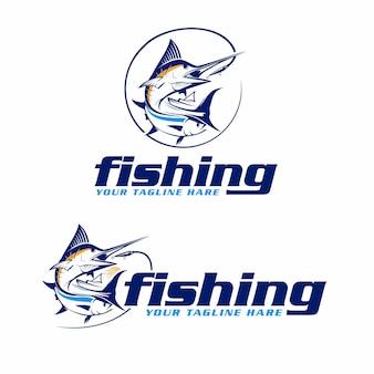 Marlin- und thunfisch-phishing