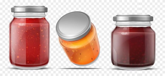 Marmeladenbehälter