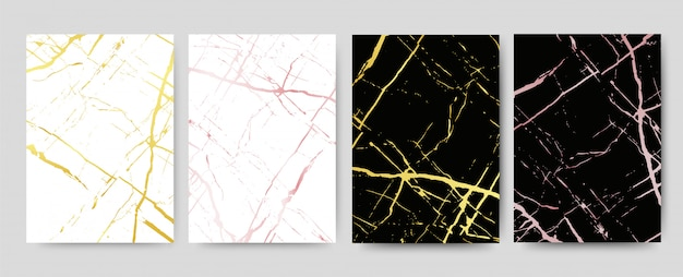 Marmor mit goldenem beschaffenheitshintergrund