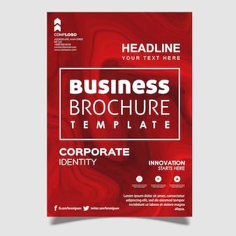 Marmor textur business broschüre design