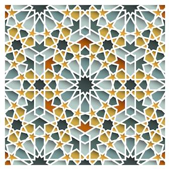 Marokkanisches orientalisches nahtloses muster