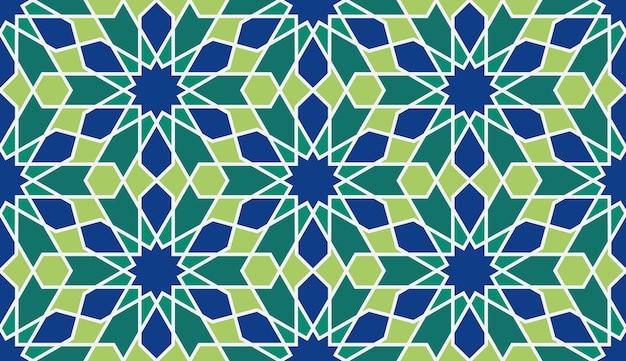 Marokko nahtlose muster