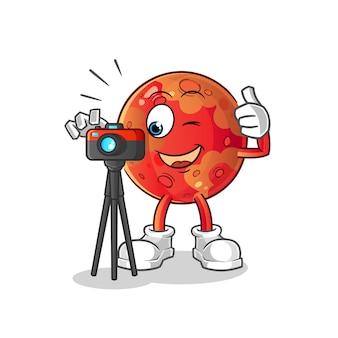 Mars fotograf charakter.