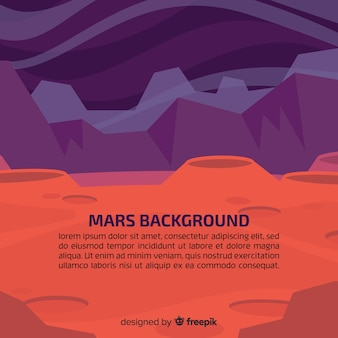 Mars hintergrund