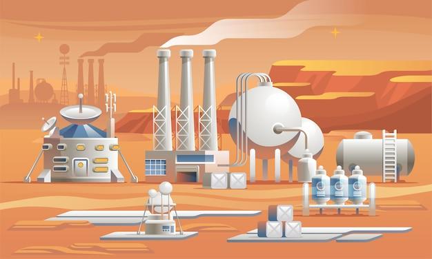 Mars-kolonisation.