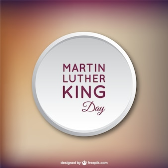 Martin luther king tag vector