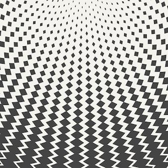 Maschenmuster-designhintergrund des abstrakten schwarzen quadrats