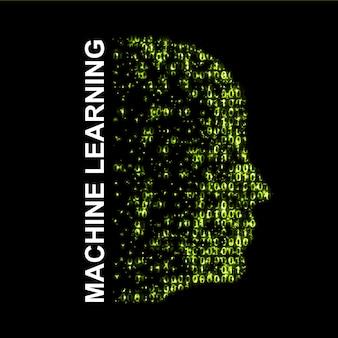 Maschinelles lernen. künstliche intelligenz.
