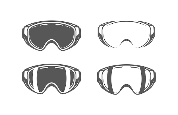 Maske lokalisiert auf weißem hintergrund.