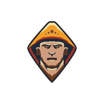 Maskottchen-logo