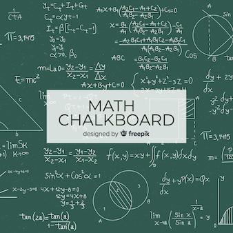 Mathe realistische tafel hintergrund