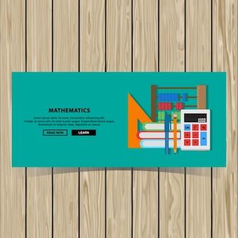 Mathematik-banner-design