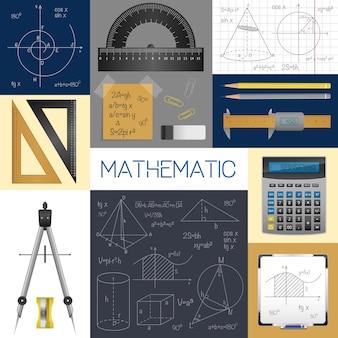 Mathematik-wissenschaftskonzept