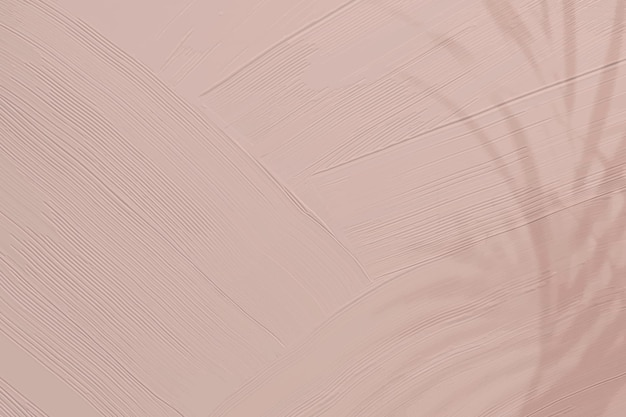 Mattrosa lackbeschaffenheitshintergrund mit blattschatten