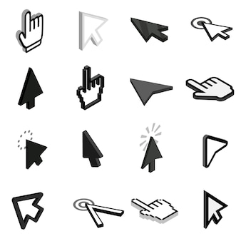 Mauszeiger-symbole festgelegt