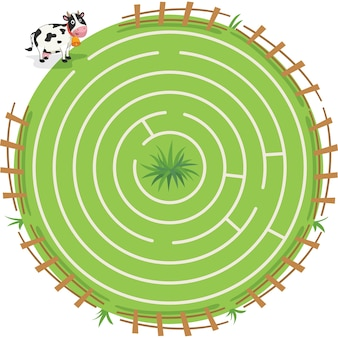 Maze labyrinth spiel