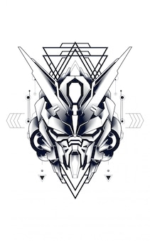 Mecha heilige geometrie
