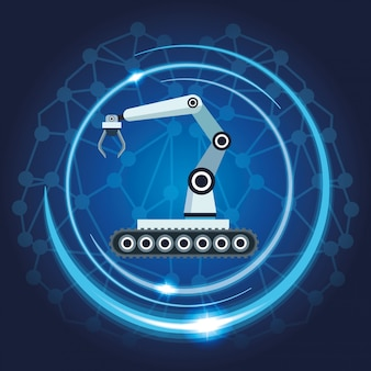 Mechatronischer roboterarm