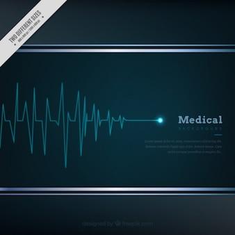 Medical kardiogramm hintergrund