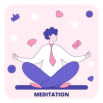 Meditation für klaren geist